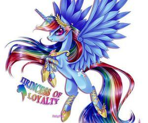 my little pony and rainbow dash image