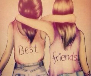 Best, friendship, and best friends image