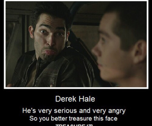 derek, teen wolf, and funny image