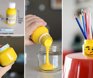 diy, lego, and yellow image