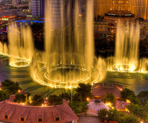 photography, Las Vegas, and light image