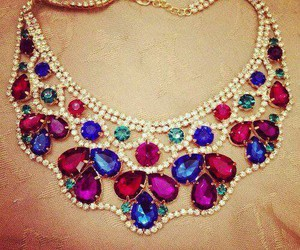necklace, luxury, and jewelry image