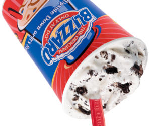 blizzard, Dairy Queen, and transparent image