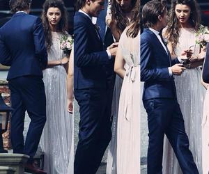 couple, wedding, and louis tomlinson image