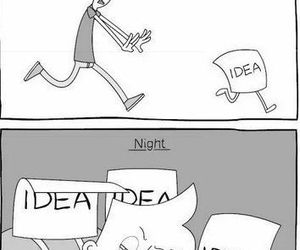 ideas, funny, and night image