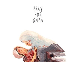 Gaza, help, and filistin image