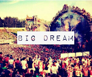 Dream and tomorowland image
