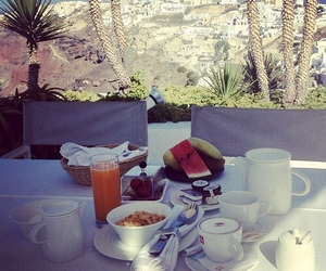 breakfast, food, and nature image