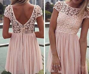 dress, girly, and summer image