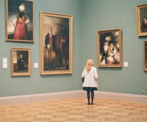 museum, art, and painting image