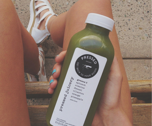 healthy, juice, and pressed image