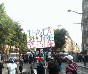france, manifestation, and paris image