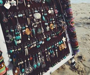 beach, love, and bohemian image