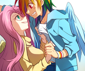 my little pony, MLP, and rainbow dash image