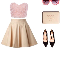 coco chanel, fashion, and outfit image