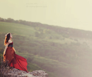 hills, pale, and beauty image