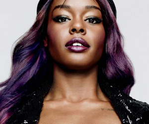 purple, rapper, and azealia banks image