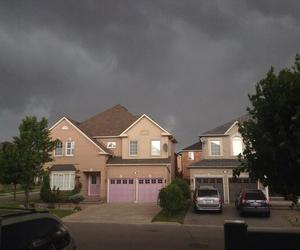 house and sky image