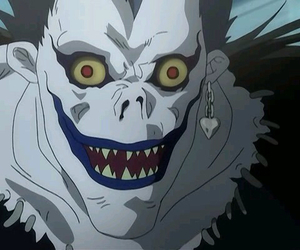 anime, death note, and shinigami image