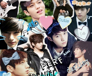 handsom, kpop collage, and infinite image