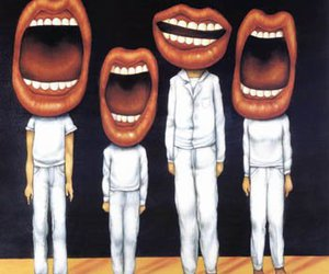 mouth, lips, and people image