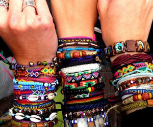 bracelet, summer, and cool image