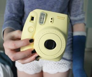 camera, tumblr, and polaroid image