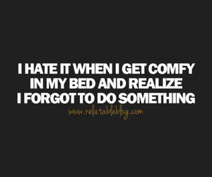 bed, inspiration, and life image
