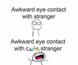 cute, funny, and strangers image