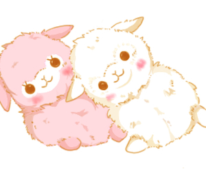 cute, kawaii, and pink image