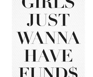 girl, quote, and money image