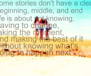 beach, friendship, and quote image