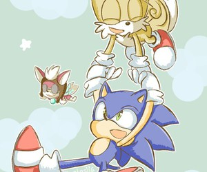 sonic, tails, and sonic classic image