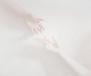 hands, pale, and white image