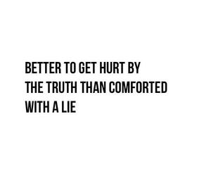 truth, lies, and quote image