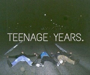 teenager, teenage, and years image