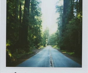 away, road, and vintage image