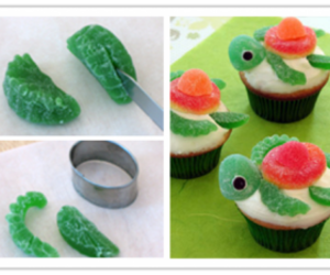 diy, cupcake, and turtle image
