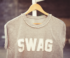 fashion, swag, and t-shirt image