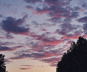 finland, sky, and sunset image