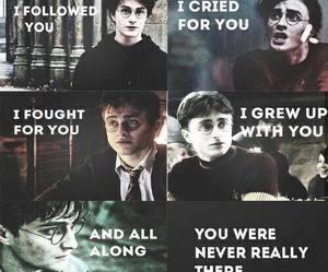 harry potter, hogwarts, and love image