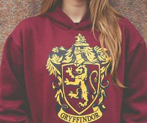 girl, gryffindor, and harry potter image