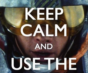 keep calm, star wars, and force image