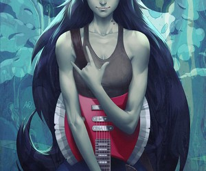 marceline, adventure time, and art image