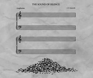 key, music, and silencious image