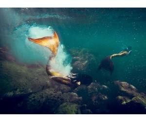 girl and mermaid image