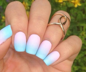 blue, pastel, and pretty image