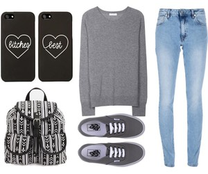fashion, bag, and clothes image