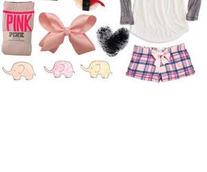 bow, elephant, and outfit image