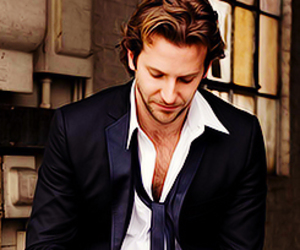 bradley cooper, Hot, and coffee image